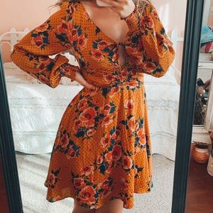 NWT Free People Morning Light Mini Dress